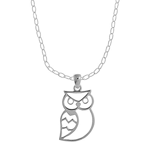 Owl Necklace - Boma Life Sterling Silver