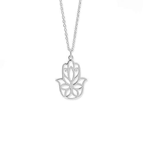 Hamsa Hand Necklace - Boma Life Sterling Silver
