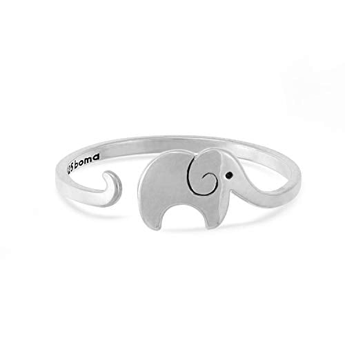 Elephant Wrap Ring - Boma Life Sterling Silver