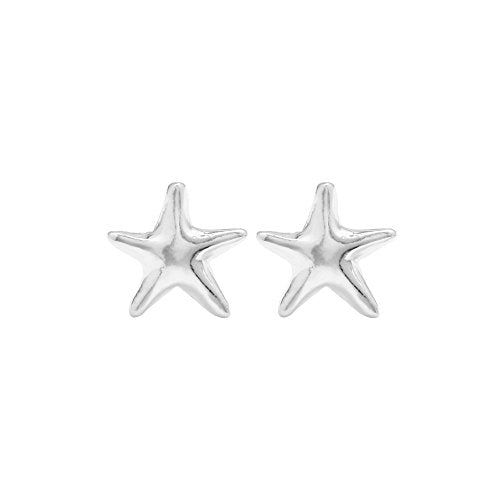 Starfish Stud Earrings - Boma Life Sterling Silver