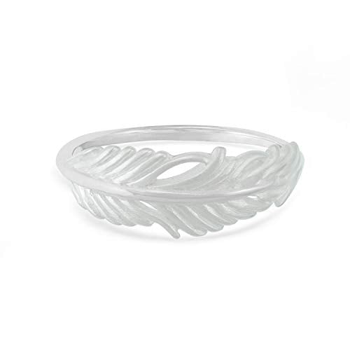 Feather Ring - Boma Life Sterling Silver