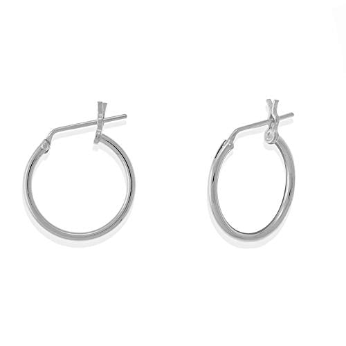 Essential Half Inch Hoop Earrings - Boma Life Sterling Silver