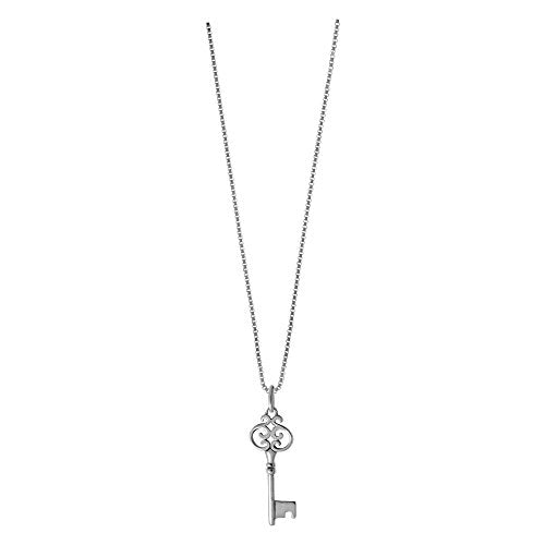 Victorian Key Necklace - Boma Life Sterling Silver