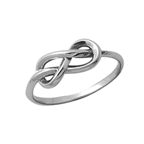 Infinity Knot Ring - Boma Life Sterling Silver