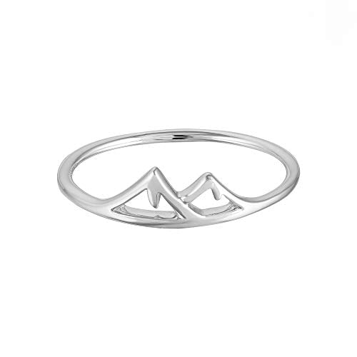 Mountain Ring - Boma Life Sterling Silver