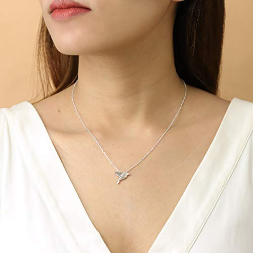 Origami Bird Necklace - Boma Life Sterling Silver