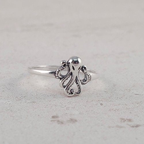Octopus Ring - Boma Life Sterling Silver