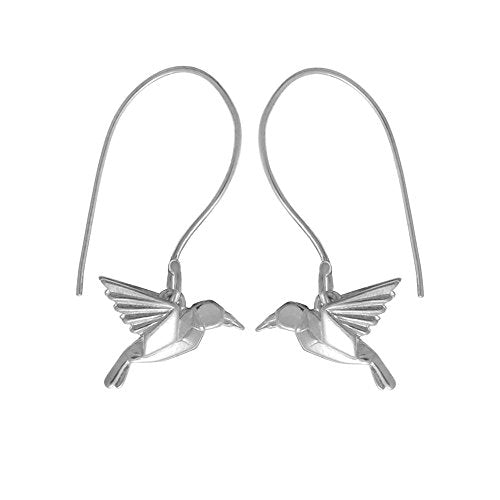 Origami Bird Earrings - Boma Life Sterling Silver