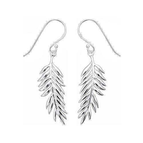 Fern Earrings - Boma Life Sterling Silver