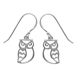 Owl Earrings - Boma Life Sterling Silver