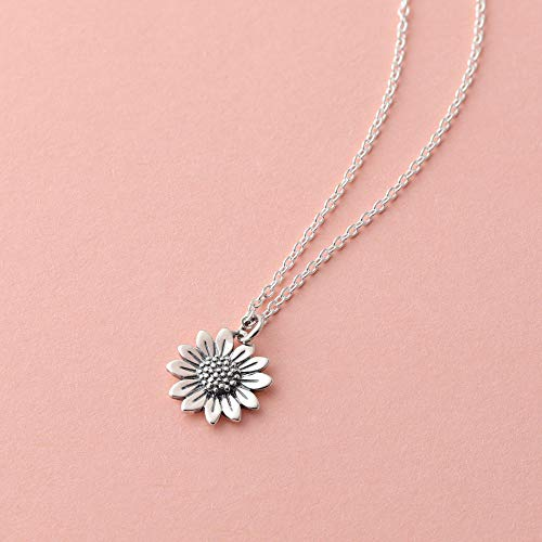 Sunflower Necklace - Boma Life Sterling Silver