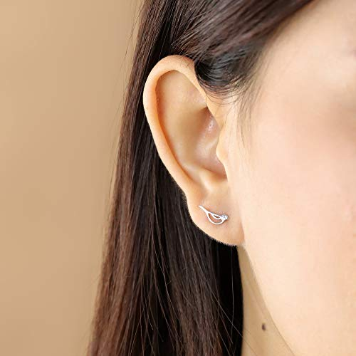 Sweet Bird Stud Earrings - Boma Life Sterling Silver