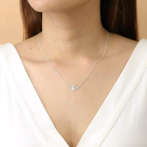 Soaring Bird Necklace - Boma Life Sterling Silver