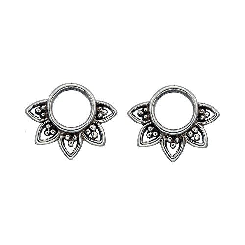 Bohemian Circle Stud Earrings - Boma Life Sterling Silver