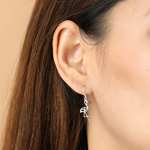 Flamingo Earrings - Boma Life Sterling Silver
