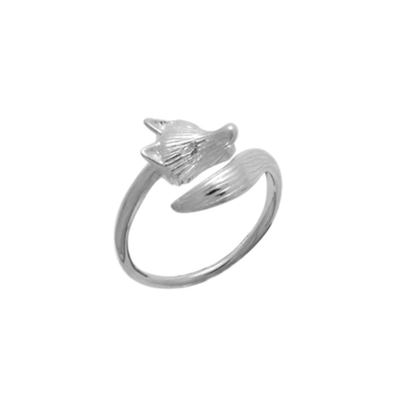 Fox Wrap Ring - Boma Life Sterling Silver