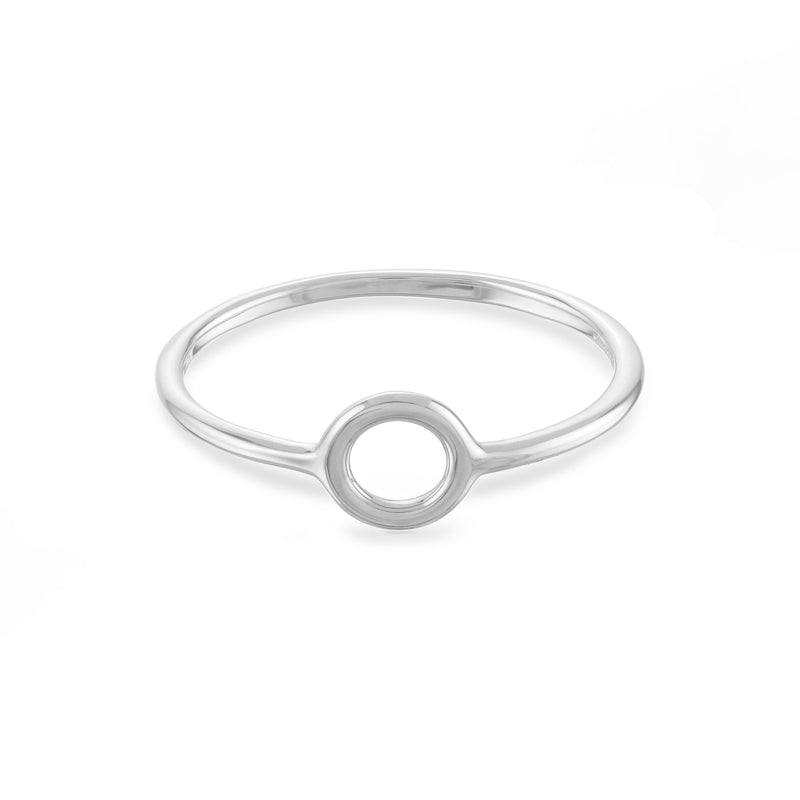 Small Open Circle Ring