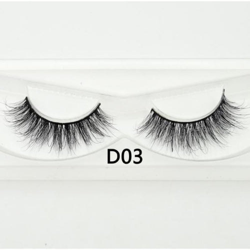 3D Mink Lashes - D03 - Virgin Hair
