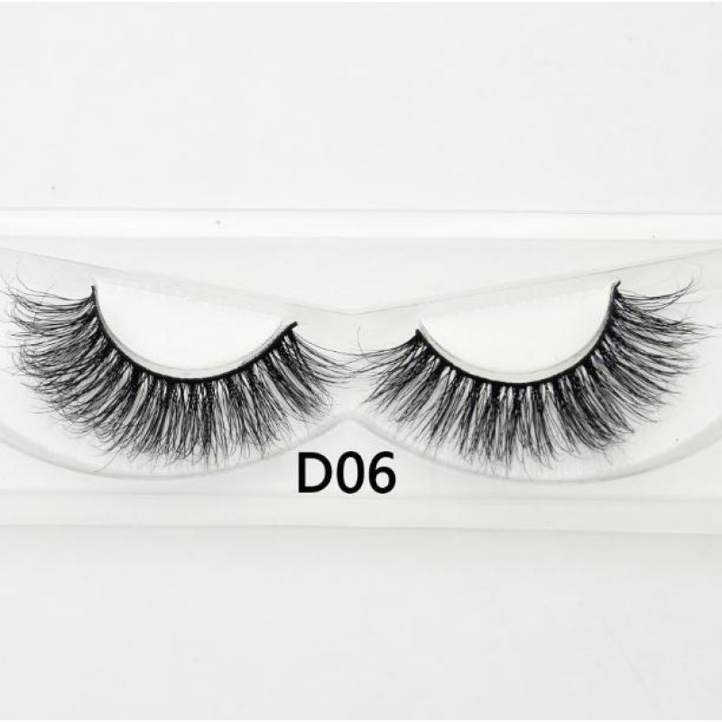 3D Mink Lashes - D06 - Virgin Hair