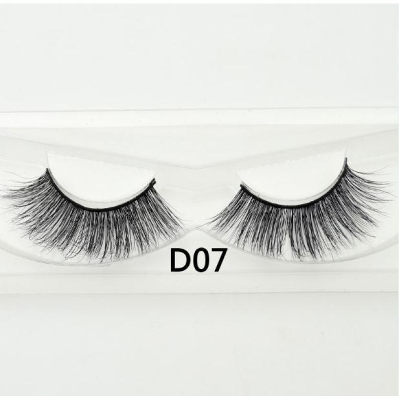 3D Mink Lashes - D07 - Virgin Hair