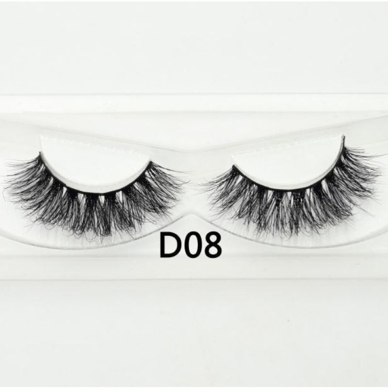 3D Mink Lashes - D08 - Virgin Hair