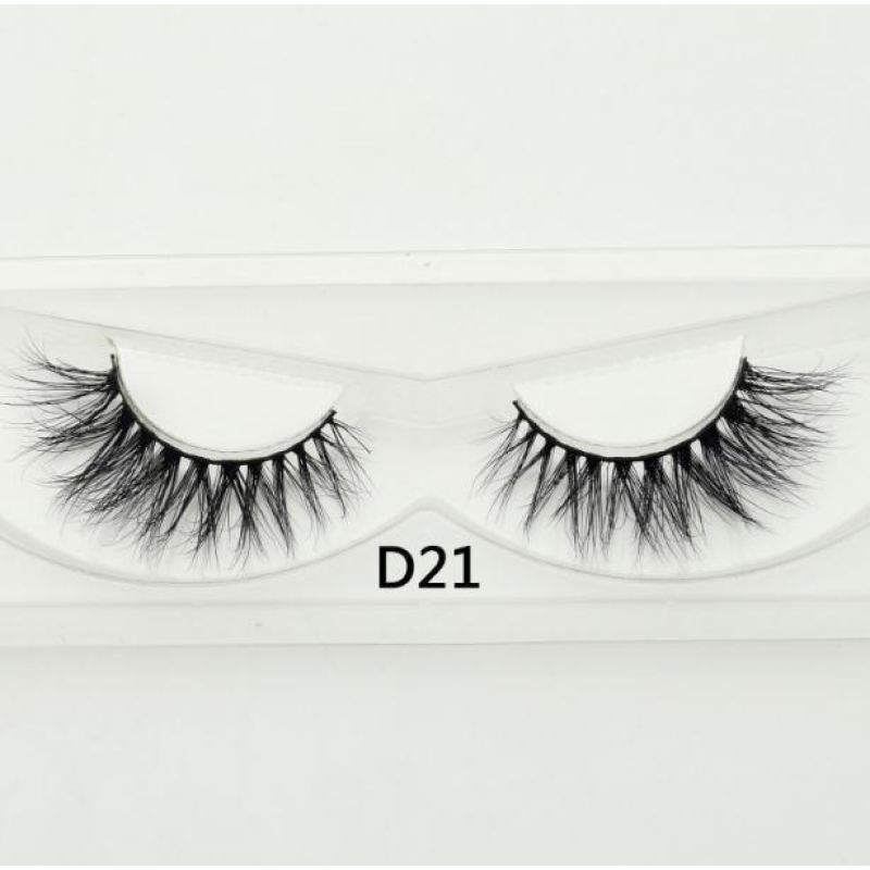 3D Mink Lashes - D21 - Virgin Hair