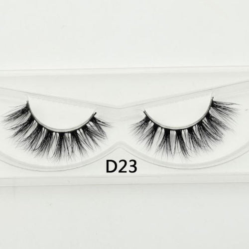 3D Mink Lashes - D23 - Virgin Hair