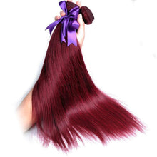 Bold Red Brazilian Remy Hair - Virgin Hair