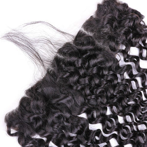 Deep Wave Remy Hair 13x4 Lace with Frontal Closure - Virgin Hair