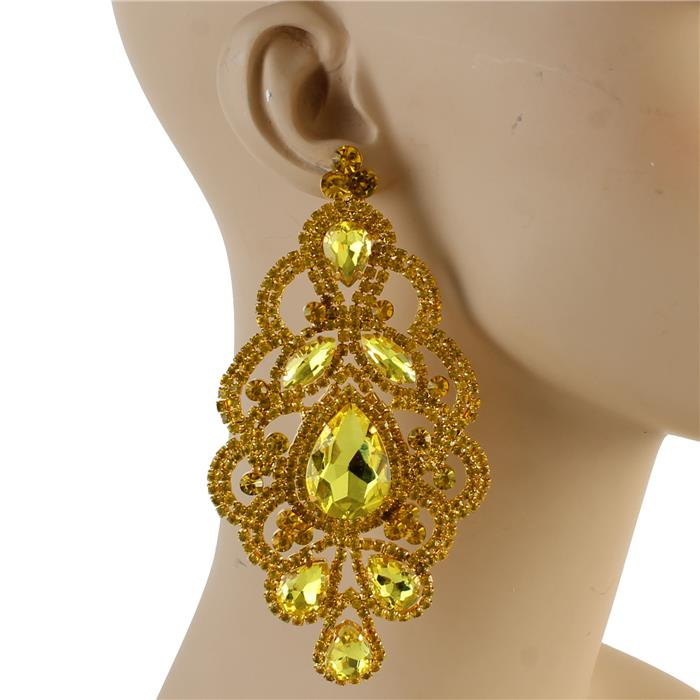 ADELE EARRINGS - YELLOW
