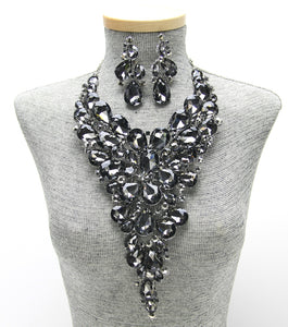 ALEXANDRIA NECKLACE - BLACK DIAMOND