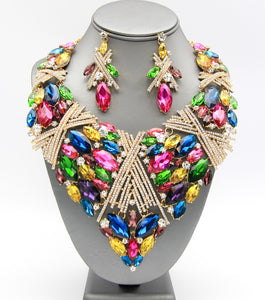 BASILLE NECKLACE - MULTI