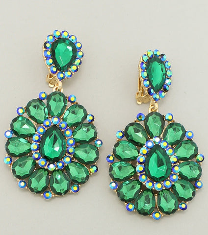 PIXIE EARRINGS - GREEN