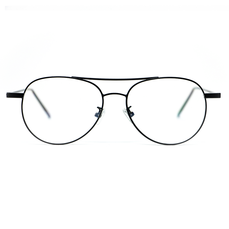 ENZO | BLACK - Blue light glasses, protect your eyes (D'ARMATI)