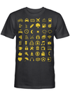 48 Cool Traveller Icons Travel Icon-Speaks for Who Love Travelling T-shirt
