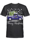 Baltimore Ravens Truck Christmas Tree - Merry Christmas Gift For Fans T-shirt