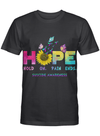 Suicide Awareness Hope Fighter Supporter - Hold On Pain Ends T-shirt