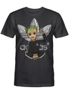 Characters Superheroes Groot Guardians galaxy tzl2400 T Shirt