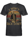 Tom Petty I Wont Back Down Vintage T Shirt
