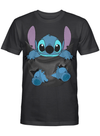 Stitch on My Ripped Pocket Lilo And Stitch Fan T Shirt