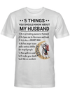 5 things you should know about my husband Jack Skellington Sally Gift for Husband Lover T Shirt