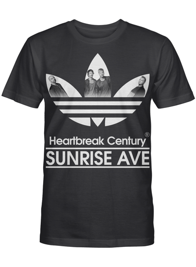 Heartbreak Century Sunrise Ave Inspired Logo Music Fan T Shirt