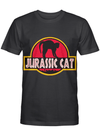 Jurassic Cat Park Funny Movie Inspired Cats Mom T Shirt