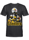 Steelers Football Team Donald Goofy Mickey Gift For Kid Football Fan T Shirt