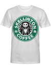 Skellinton Coffeeparody Starbuck Funny Halloween Gift For Horror Movie Lover T Shirt