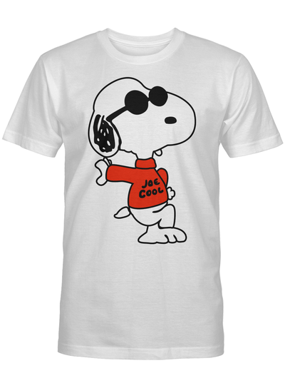 Snoopy Joe Cool Funny Dog Lover Gift For Movie Fan T Shirt