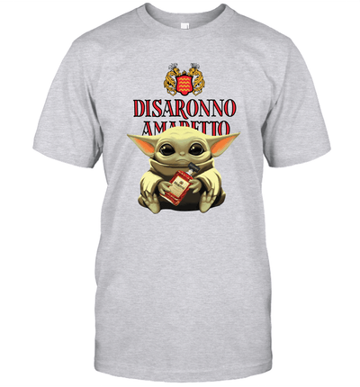 Baby Yoda Loves Disaronno The Mandalorian Fan T-Shirt
