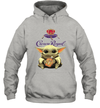 Baby Yoda Loves Crown Royal The Mandalorian Fan Hoodie