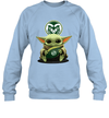 Baby Yoda Hug Colorado State Rams The Mandalorian Sweatshirt