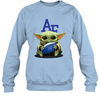 Baby Yoda Hug Air Force Falcons The Mandalorian Sweatshirt